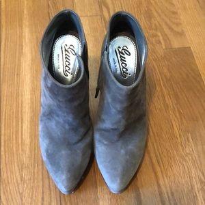 Gucci high heel booties